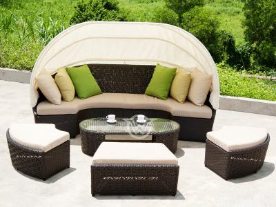 Outdoor Rattan Daybed