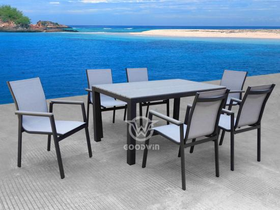 Patio Restaurant Dining Set