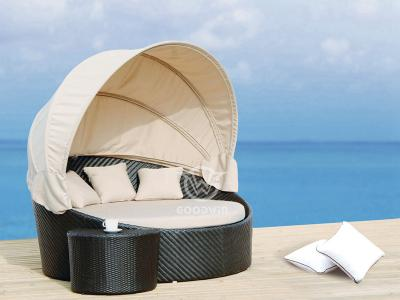 Outdoor Woven Rattan Daybed