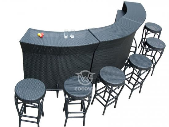 Outdoor Bar Service Set