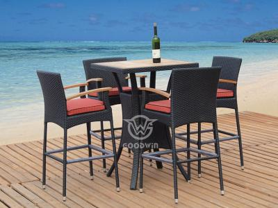 Outdoor Bar Stool Set
