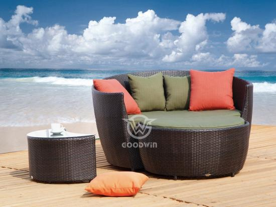 Outdoor Furniture Rattan Daybed