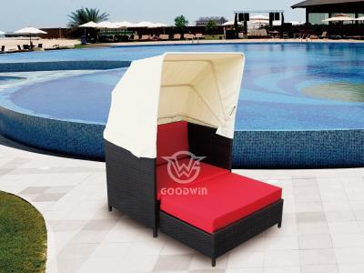 Garden Rattan Chair With Canopy