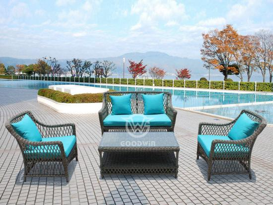 Garden Treasure Rattan Sofa Set